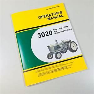 John Deere Model 2010 Diesel Row Crop Utility Tractor