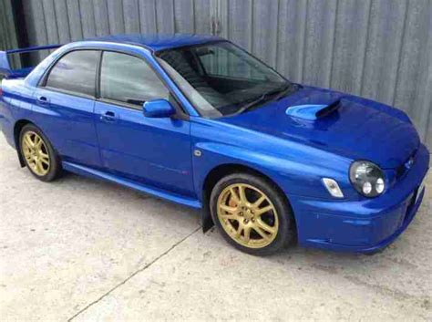 Subaru Impreza Wrx Sti For Sale by Subaru 2002 Impreza Wrx Sti Prodrive Blue Uk Edition Car