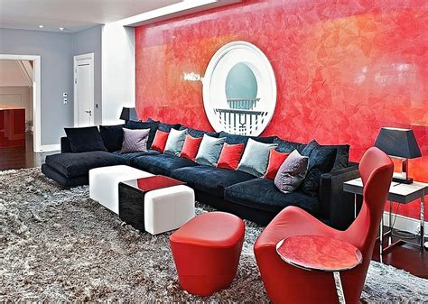red living rooms design ideas decorations