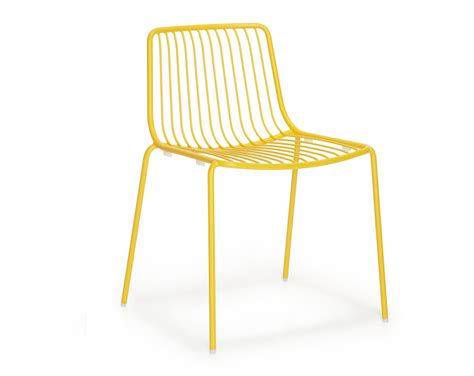 chaise pedrali pedrali chair nolita 3650 yellow chairs for restaurants