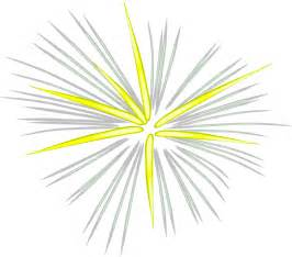 Transparent Fireworks Clip Art