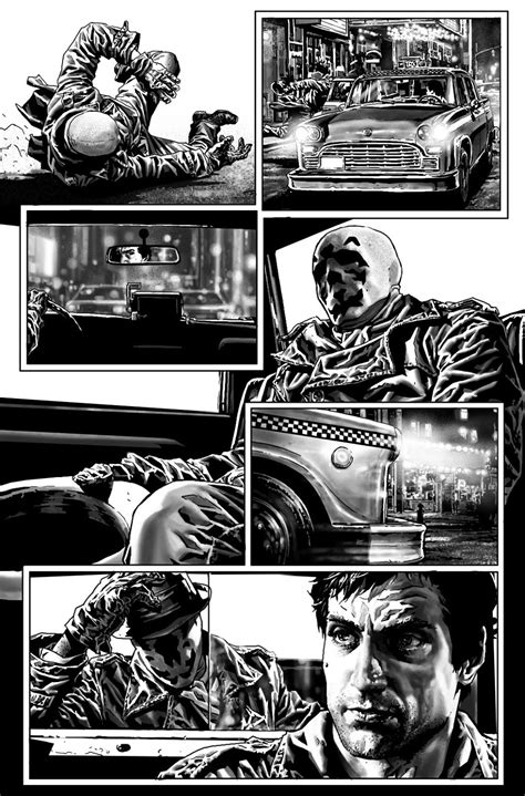 Bruises and Black Eyes: Rorschach 3 pages