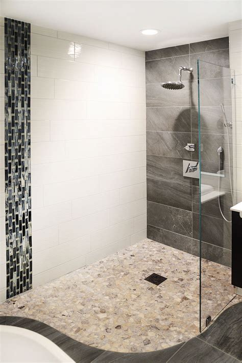 In Shower by Curbless Entry Walk In Showers The Bath Shop