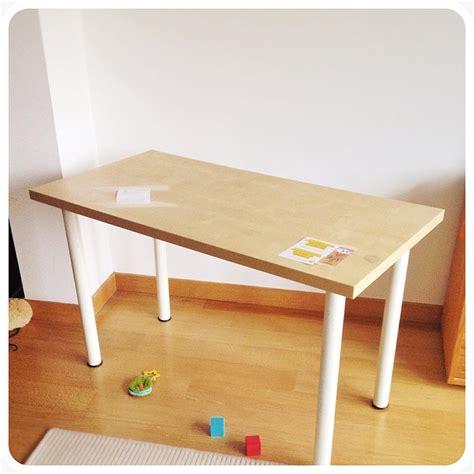 table de bureau ikea le bureau diy ikea de ginette bidouilles ikea