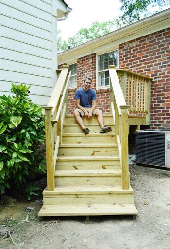 how to build a house how to build a deck it 39 s done railings decking and house