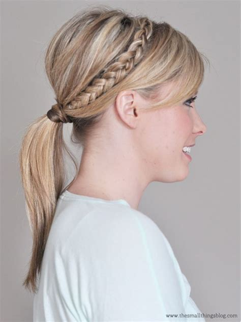 styles with braiding hair top 25 ideas about braid ponytail on braided 7801
