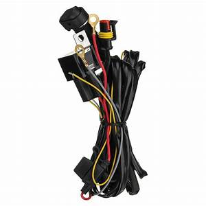 12v 40a Led Fog Lights Wiring Harness Switch On  Off For Bmw R1200gs F800gs  Adv Sale