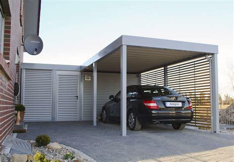 Moderne Häuser Mit Carport by Carport Carport Selbst Bauen Carport Carport Designs