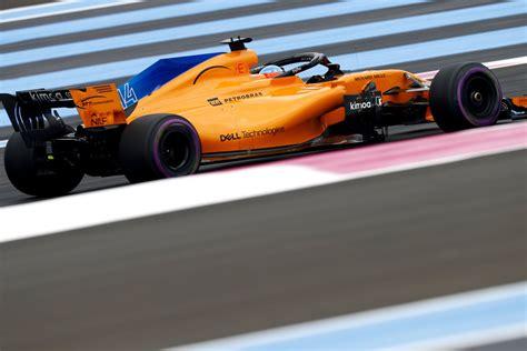 mclaren formula   french grand prix qualifying