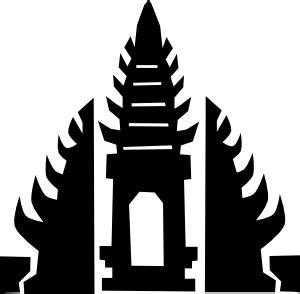 bali temple clip art  clkercom vector clip art