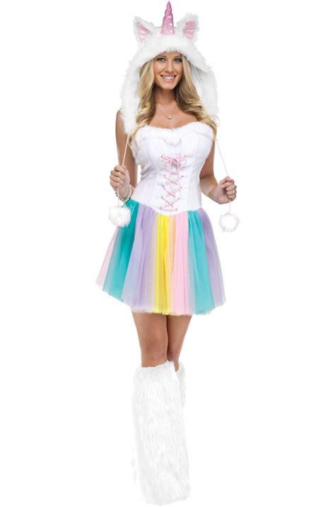 Unicorn Adult Costume - PureCostumes.com