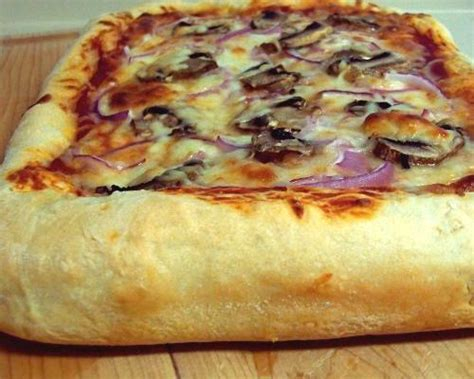 thick crust pizza homemade pizza thick crust flickr photo sharing