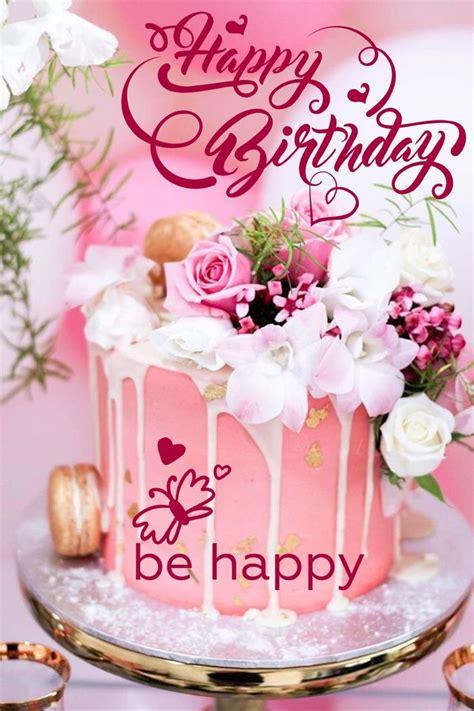 great image  happy birthday cake  flowers