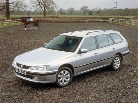 Peugeot 406 Estate (2000) picture #01, 800x600