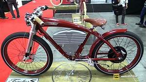2017 Vintage Electric Bikes Tracker S Cruiser Bike