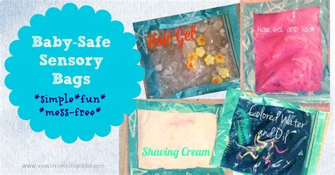 baby friendly sensory bags safe simple printable
