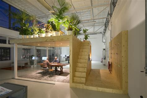 open floor plan house loft office jvantspijker archdaily