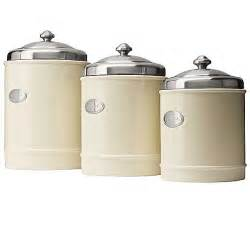 metal canisters kitchen capriware kitchen canisters ceramic stainless steel save 35