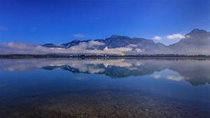Alps, Bavaria, Germany, Lake, Mountain, Reflection, Hd, Nature