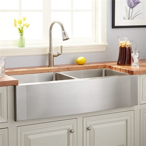 best farmhouse kitchen sinks decor elegant design of top mount farmhouse sink for