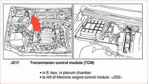 2008 Audi A4 Fuel Pump Control Module Location