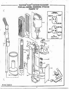 Iona Model Fy51 Vacuum  Upright Genuine Parts