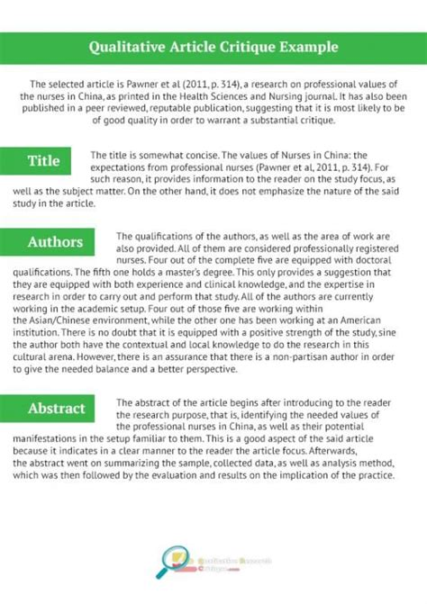 qualitative research examples nursing research articles