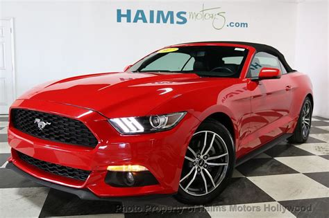 ford mustang ecoboost premium convertible