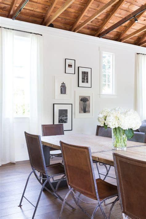 benjamin moore acadia white dining room transitional