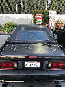 Beautiful 1991 Mazda Rx7 Convertible Top Rotory For Sale