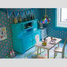 Neugestaltung Eines Puppenhauses 3 Möbel Lackieren Und