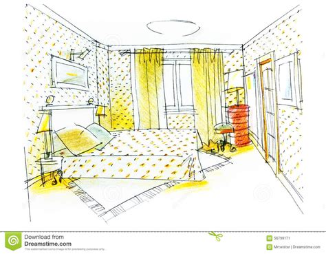 dessin d une chambre dessin d 39 une chambre a é facile gascity for