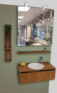 Meuble De Salle De Bain En Solde : meubles de salle de bain en promo atlantic bain ~ Teatrodelosmanantiales.com Idées de Décoration