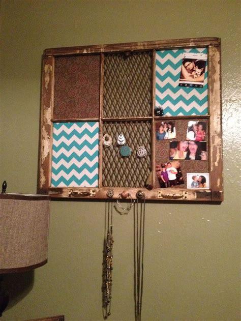 Diy Old Window Frame Crafts Pinterest Window