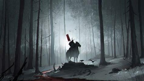 forest samurai  hd artist  wallpapers images