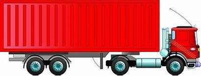 Container Truck Clipart Freight Trailer Cargo Clip
