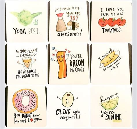Sweet and Punny valentines day cards www.etsy.com/shop ...