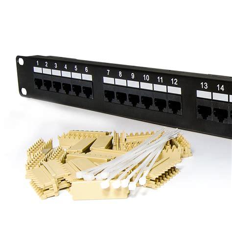 port cat   type patch panel rackmount american teledata store
