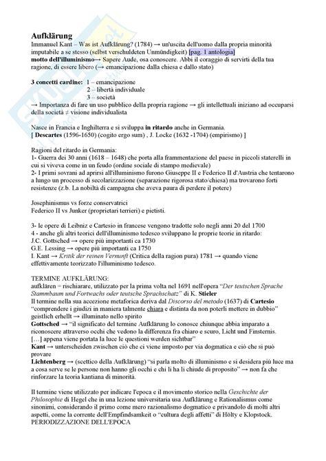 Illuminismo Letteratura Dall Illuminismo Al Tardo Romanticismo Appunti Di Letteratura