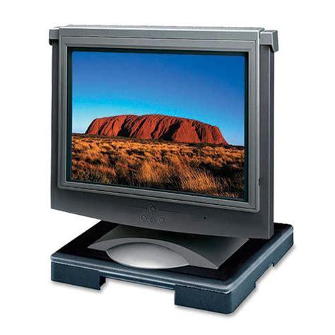dac standard monitor riser block black