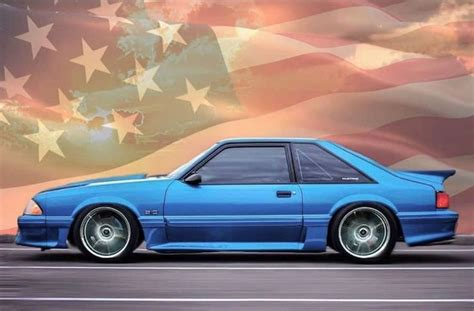 foxbody mustang freedom   fox body mustang mustang cool cars