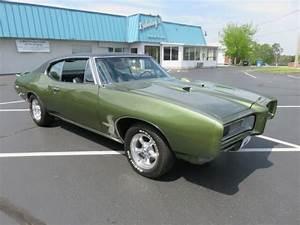 U0026quot Verdoro Green 1968 Gto 400 400 3 36 Safe-t-trac Hood Tach A  C Wing His N Hers U0026quot