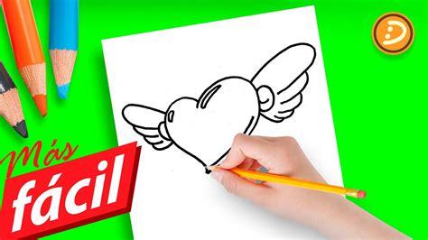 dibujos de amor faciles de hacer paso  paso   draw