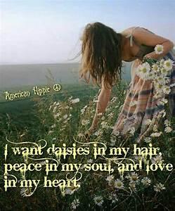 American Hippie... Free Spirit Girl Quotes