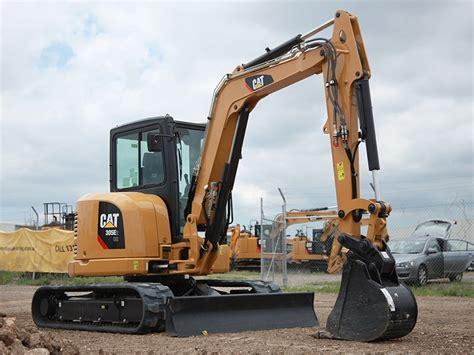 review cat  excavator