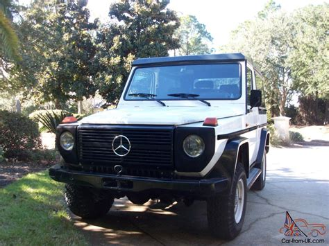 1984 300gd Mercedes Benz G Wagon Cabrio Diesel With Hard Top