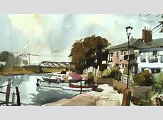 Watercolour Fast And Free Trailer John Hoar YouTube