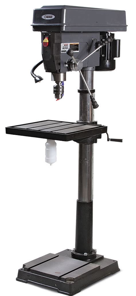 central machinery  drill press finewoodworking