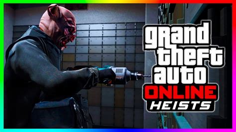 Gta 5 Online Heists! New Heists Weapons, Gas Masks, Night