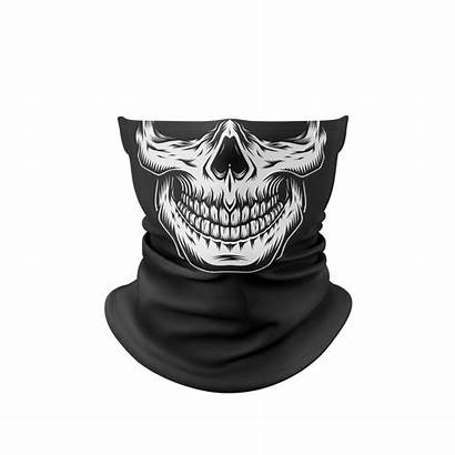 Mask Gaiter Skull Face Stuck Masks Gaiters